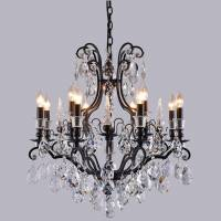 Люстра Crystal Lux MAGNIFICO SP13 BLACK/TRANSPARENT
